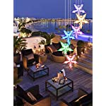 Color-Changing Wind Chime, Wishshopping Solar Power Wind Chimes Lights Hanging Lamp Night Light For Home, Party… 10