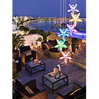 Color-Changing Wind Chime, Wishshopping Solar Power Wind Chimes Lights Hanging Lamp Night Light For Home, Party… 13