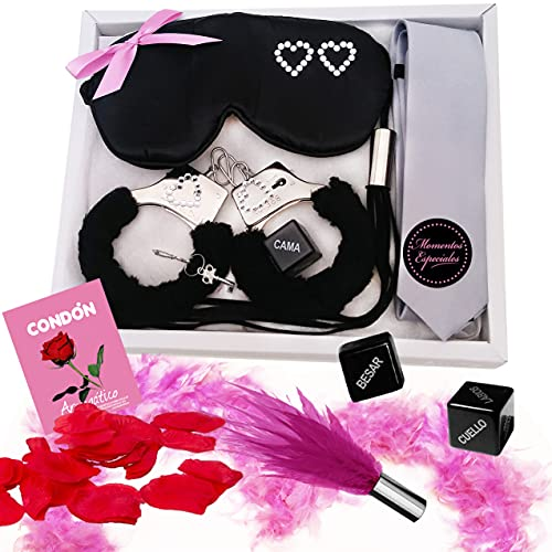 Inedit Festa Juego Kit erótico para Parejas traviesas Hot Lovers Juegos eróticos de Mesa para Sexo Kit Grey