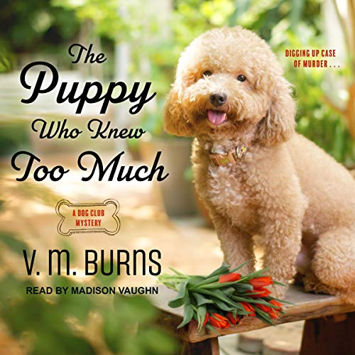 The Puppy Who Knew Too Much audiobook cover art