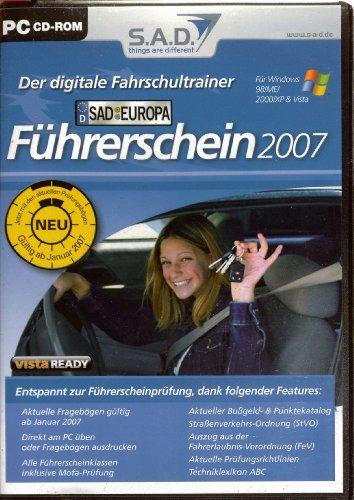 Führerschein 2007 - Der digitale Fahrschultrainer -