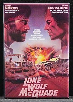 Lone Wolf McQuade Refrigerator Magnet Chuck Norris