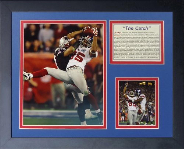 Legenden Sterben Nie  David Tyree The Catch  gerahmtes Foto Collage, 11x 35,6cm von Legends Never Die