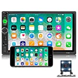 Best Apple Stereo For Car With Backup Camera - NHOPEEW Double Din Car Stereo 7 inch Touch Review