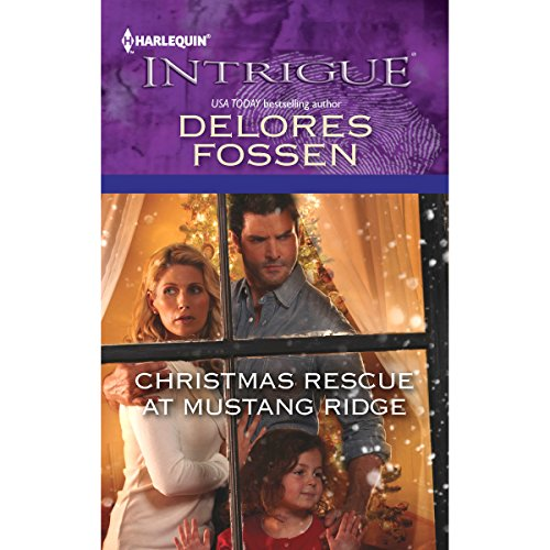 Christmas Rescue at Mustang Ridge audiobook cover art