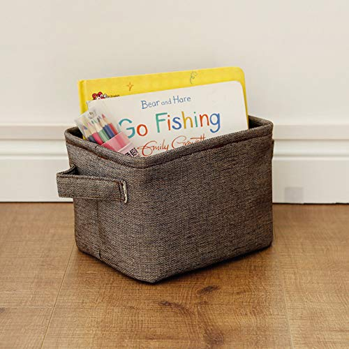 VIOYO Wäschekorb Spielzeug Aufbewahrungskleidung Wäschekorb Veranstalter Lagerung Picknickkorb Baby Mesh Hamper Magazine Sorter Up Dense Aid