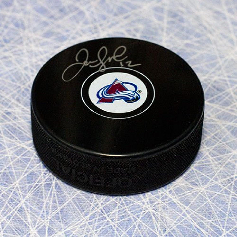 Jarome Iginla colorado Avalanche Autographed Hockey Puck