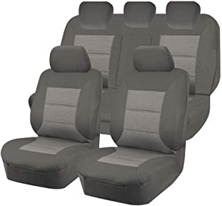 Premium Car Seat Covers for Ford Ranger Pxii-Pxiii Series 2015-2020 Dual Cab | Grey