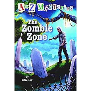 A to Z Mysteries: The Zombie Zone cover art