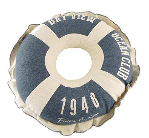 osters muschel-sammler-shop Rettungsring ┼ Kissen Stromboli 40cm ┼ Rivera Maison ║ Sofa, Coach, Stuhl Bank, Sessel oder Boot