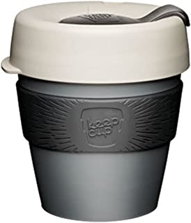 KeepCup 8oz Reusable Coffee Cup. Lightweight BPA BPS-Free Plastic & Non-Slip Silicone Band. 8-Ounce/Small, Nitro
