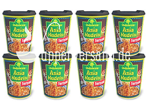 Indonesia Asia Nudel Cup Chicken Teriyaki 96g (8er Pack)