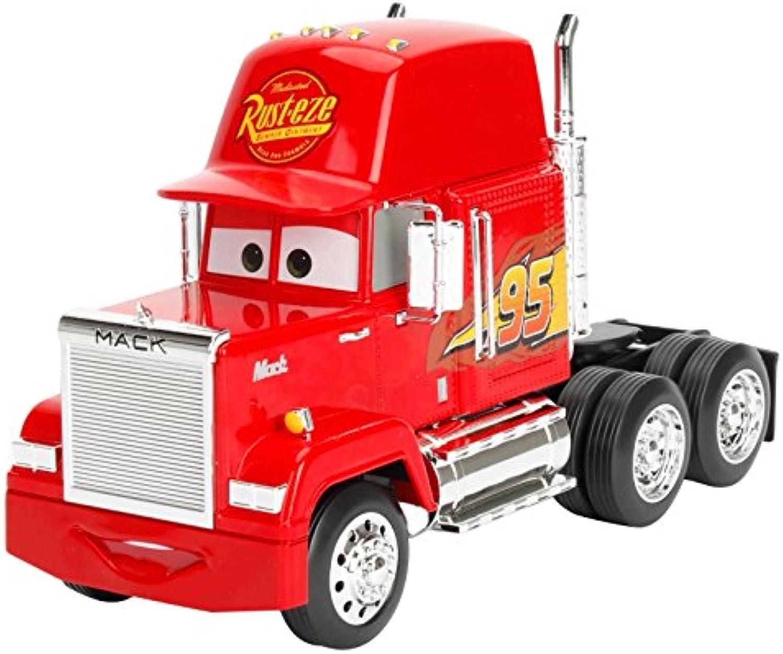 Metals Disney Pixar Cars 3 Mack RustEze Tractor DieCast Collectible Vehicle, Red, 1  24 Scale
