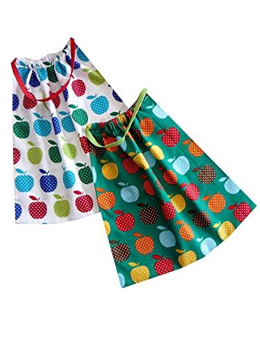 Sackcloth Sally Lot de 2 Serviettes de Table Enfant élastiquées - (Fruit)
