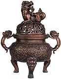 QJL_ANA Reflujo incensario de cerámica incensario, Utilizado for la decoración del hogar,...