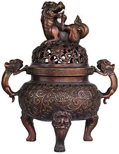 QJL_ANA Reflujo incensario de cerámica incensario, Utilizado for la decoración del hogar, aromaterapia, relajación Regalos
