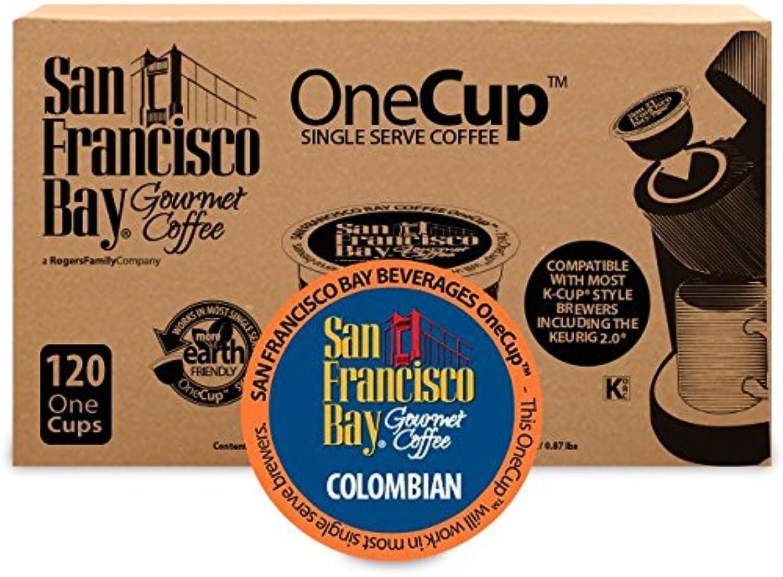 San Francisco Bay OneCup, Colombian Supremo, Single Serve Coffee K-Cup Pods (120 Count) Keurig Compatible