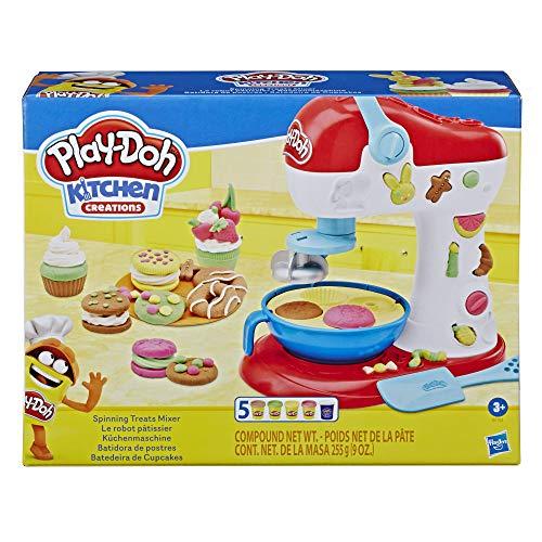Play-Doh Kitchen Creations - Miscelatore per dolcetti, Giocattolo da Cucina, per Bambini dai 3 Anni in su, con 6 Colori atossici Play-Doh