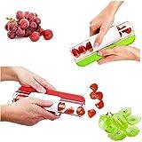 CHCH 1 x affettatrice per pomodoro, frutta, verdura, insalata, fetta di ciliegia (rosso o verde)