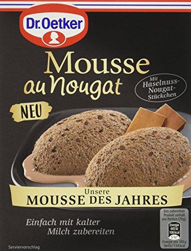 Dr. Oetker Mousse au Nougat -des Jahres, 8er Pack (8 x 69 g)