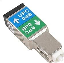 SC/APC Male to SC/UPC Female Hybrid Adapter, Metal Housing, Zirconia Sleeve
