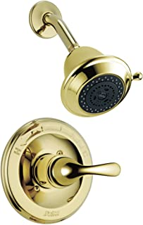 Delta Faucet T13220-PBSHC Classic, MonitorR 13 Series Shower Trim, Polished Brass