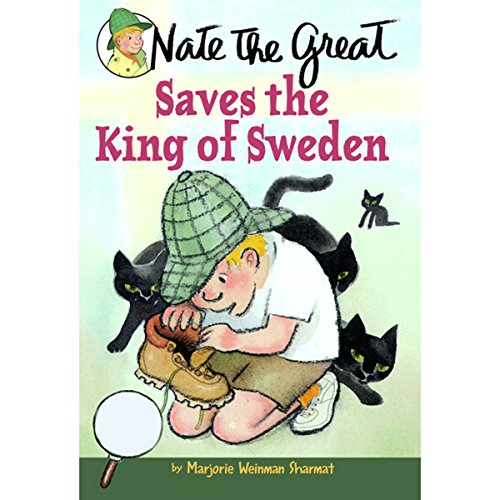 Nate the Great Saves the King of Sweden audiobook cover art
