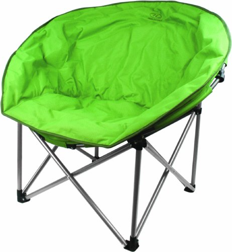 Highlander Unisex– Erwachsene Moon Chair Stuhl, grün, 90 x 100 x 84
