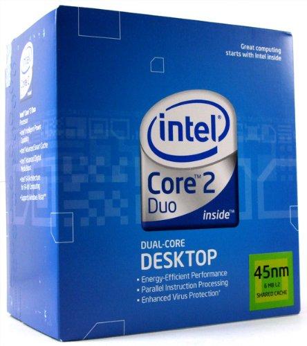 Intel Core 2 Duo Processor E8400 (6MB Cache, 3,0 GHz, 1333 MHz FSB, Socket 775)