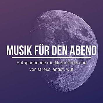 Musik für den Abend: Entspannende musik zur linderung von stress, angst, wut