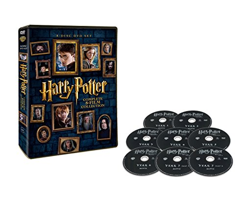 Harry-Potter-8--Film-DVD-Set-Set-of-8
