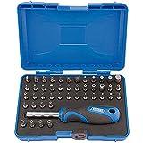 Draper MBH45 Juego seguridad y destornillador, Negro, azul y plateado