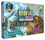 The Maps Expansion is a set of box covers and scrolls. It includes everything needed to convert the 6 Evergreen Woodlands boxes into 2 different settings: the Winter Highlands and the Savage Wastelands. The Maps Expansion is usable with ALL play mode...