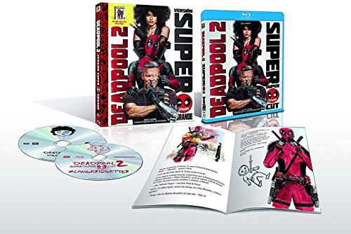 Deadpool 2 Blu-Ray + Libro (Versión Super $@%!# Grande) [Blu-ray]