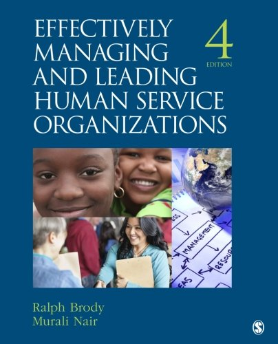 Image OfEffectively Managing And Leading Human Service Organizations (SAGE Sourcebooks For The Human Services)