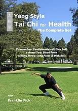 Yang style Tai Chi for Health: Complete Vol 1: Fundamentals, Vol 2: 24 Movement Short Form, Vol 3: Long Form