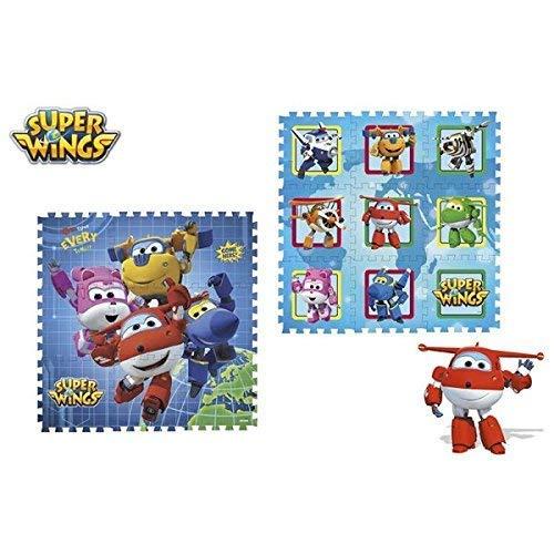 Color Baby Super Ailes Tapis eva 9 pièces 90x90cm