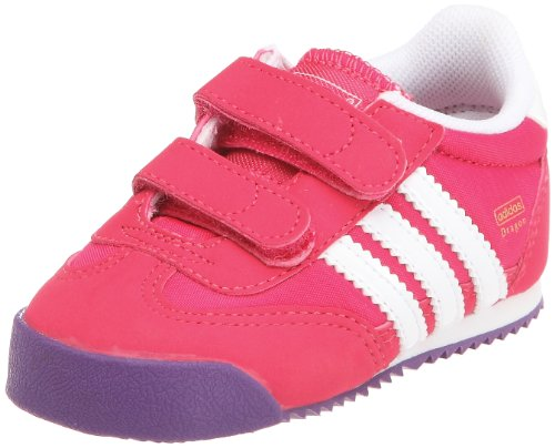 adidas Originals Unisex Baby Dragon Cf I Babyschuhe-Lauflernschuhe, Pink-Rose (G60939), 21 EU
