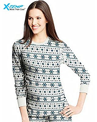 Hanes Women's X-Temp153; Thermal Printed Crew from Hanes