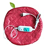 220V電気毛髪の熱処理美容スチーマーSPA栄養ヘアケアキャップ-赤