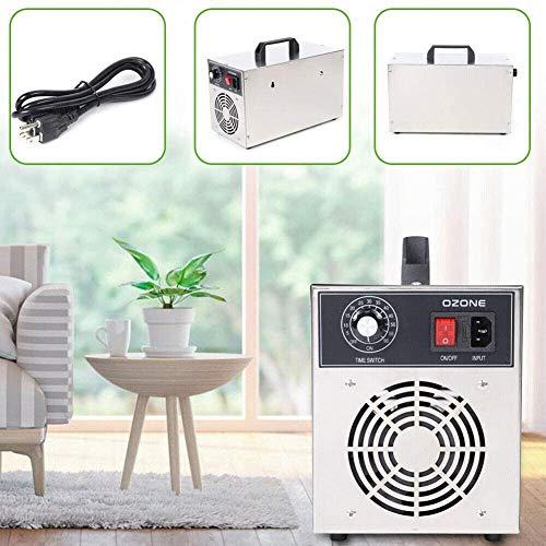 CEXTT Generadores de ozono comerciales 3.5g / h Coche de la Familia del Filtro de Aire/esterilizador Industrial con una función de Temporizador, 28x16x26CM
