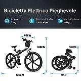 Zoom IMG-1 bicicletta elettrica pieghevole 26 mountain