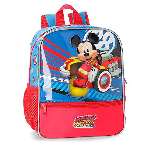 Disney World Mickey Zainetto per bambini 28 centimeters 6.44 Multicolore (Multicolor)