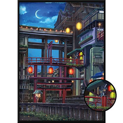 Calias® Premium Anime 50x70cm Poster | Bild modern als Deko für Wohnzimmer oder Schlafzimmer | Stilvolle Wanddeko | Wandbild ohne Rahmen
