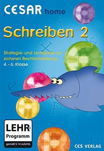 CESAR home Schreiben 2: Strategie- und Lernspiele zur sicheren Rechtschreibung.  (4.-6. Klasse)