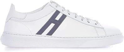 Hogan Luxury Fashion Uomo HXM3650J960KFMB001 Bianco Pelle Sneakers | Stagione Permanente