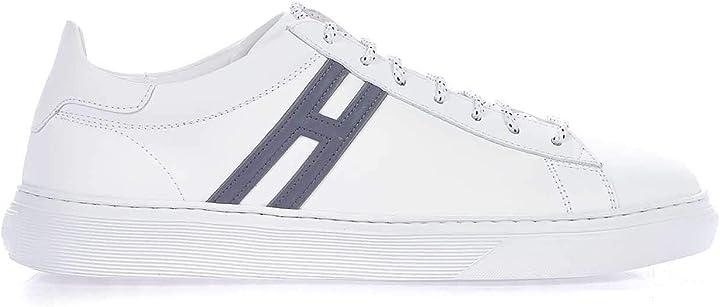 Scarpe hogan luxury fashion uomo hxm3650j960kfmb001 bianco pelle sneakers | stagione permanente B085NZD9B8