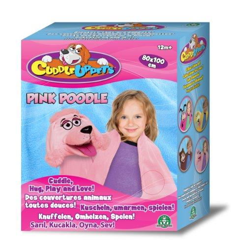 CuddleUpPets – Caniche Rose – Marionnette-Couverture 71x99cm (Import Royaume-Uni)