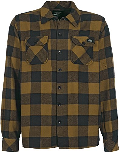 Dickies Herren Hemden Sacramento braun S
