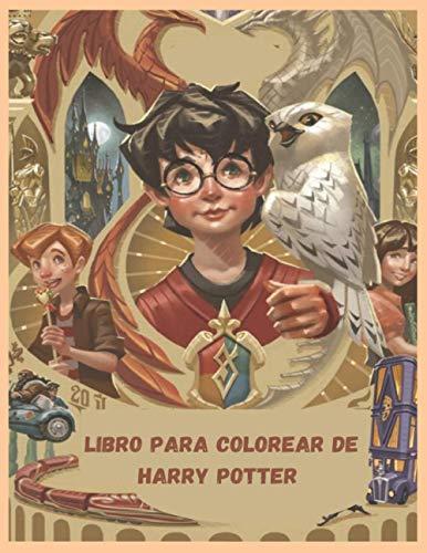 Libro para colorear de harry potter: Lugares Y Personajes Fantasticos. Maxi Libro Pa (HARRY POTTER LIBROS PARA COLOREAR)